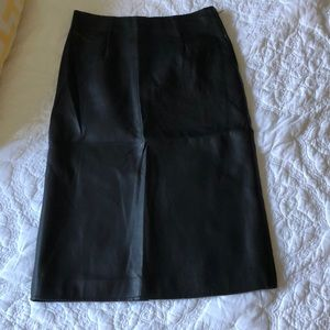 JOA brand size small faux leather skirt